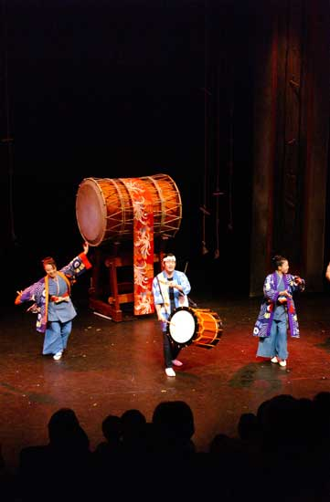 Taiko Drummers Tour Dates